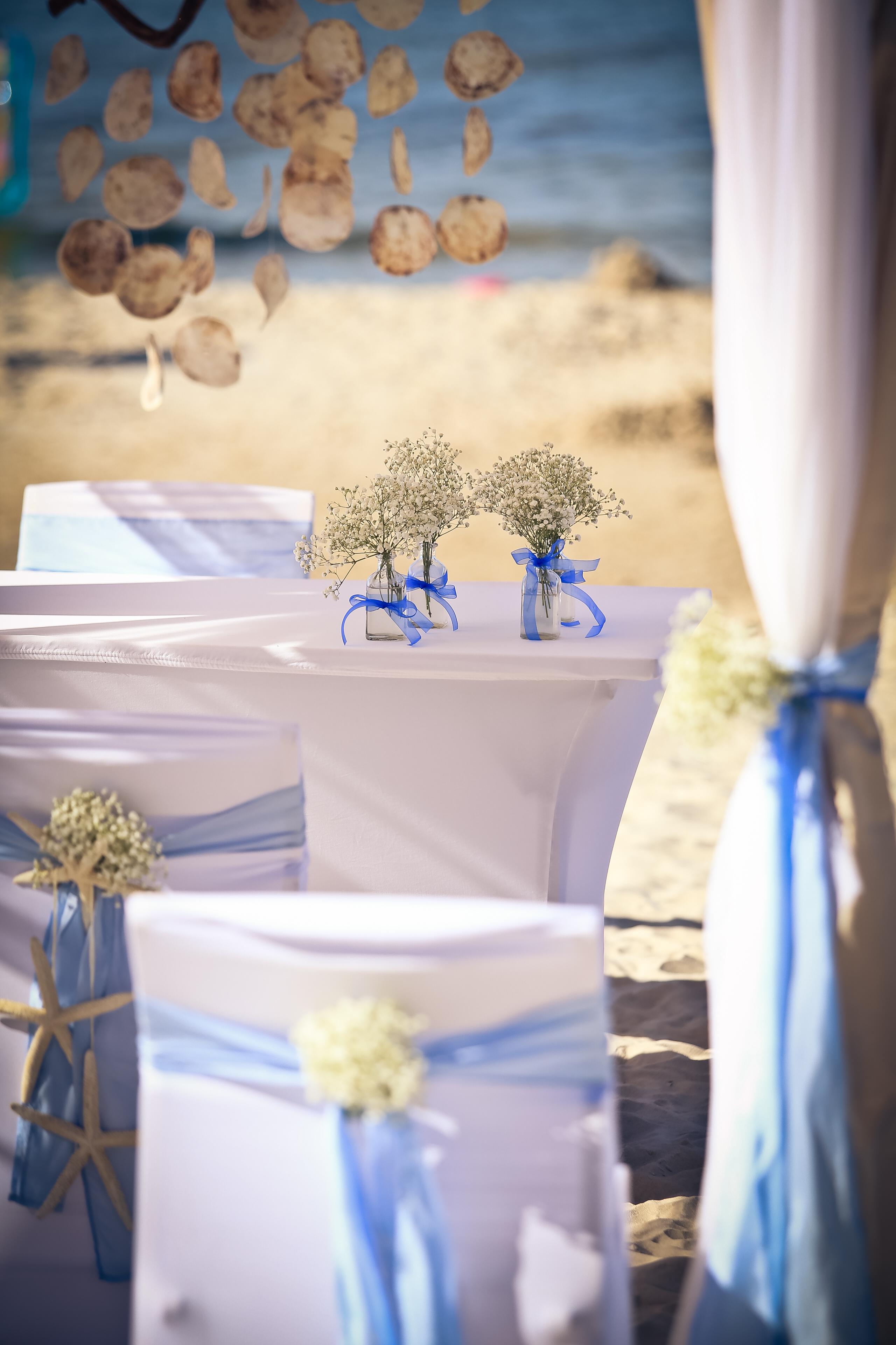 ślub na plaży w Łebie
