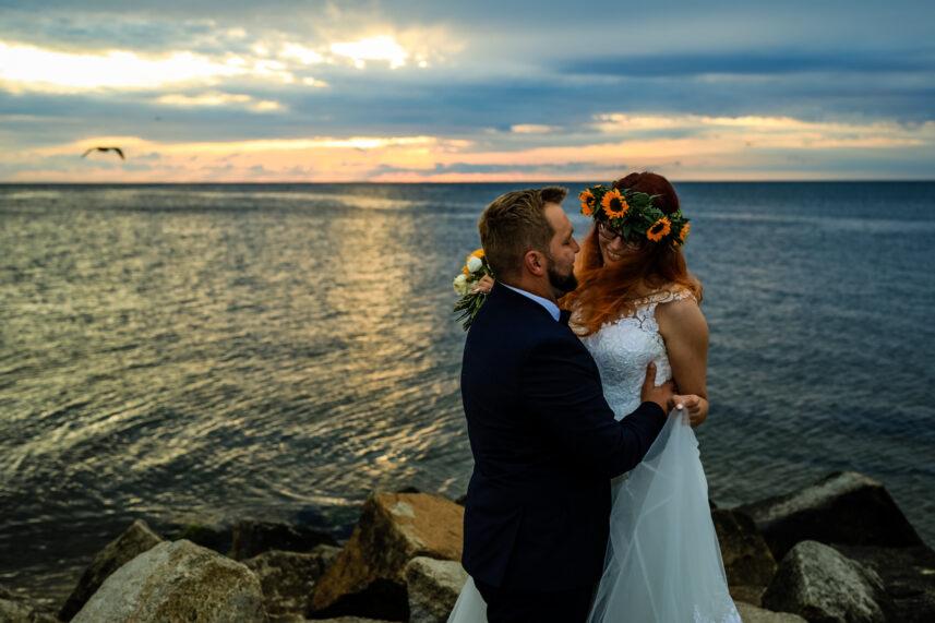Natalia & Dominik - zdjęcia ślubne Orłowo Gdynia